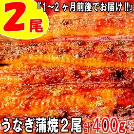 【ふるさと納税】うなぎの蒲焼2尾(計400g以上)『1~2ヶ月前後でお届け!!』.ZH55