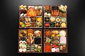 【ふるさと納税】日本料理てら岡・おせち/博多『寿』与段重(5~6人前).JB14
