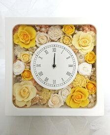 【ふるさと納税】CD02.花時計(正方形)プリザーブドフラワー