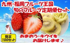 【ふるさと納税】B129.【人気】九州・福岡フルーツ王国.旬のフルーツ定期便Kセット