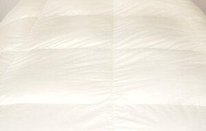 【ふるさと納税】羽毛掛け布団無地生成り抗菌・防臭ダウン使用羽毛シングル150cm×210cm羽毛ふとん吸湿放湿抗菌防臭ふとん布団筑後七国国産日本製送料無料