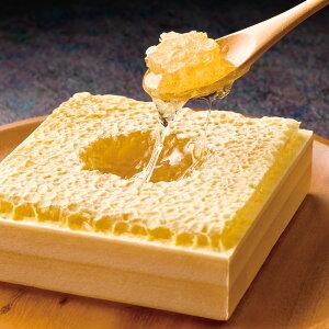 【ふるさと納税】巣みつ300g国産純粋蜂蜜巣蜜コムハニー蜂の巣ハチミツ蜂蜜ハニーギフト内祝いお歳暮お中元送料無料