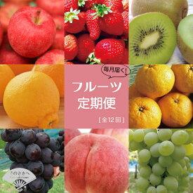 【ふるさと納税】あまおう 梨 りんご シャインマスカット など 季節のフルーツ を 年12回 お届け します! 【 定期便 】 送料込