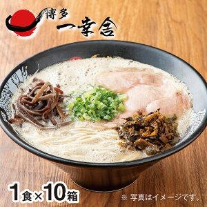 【ふるさと納税】F52-01 元祖泡系・渾身の豚骨!!博多一幸舎ラーメン(1食入)10個
