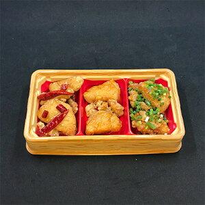 【ふるさと納税】KH3501 【からあげ聖林本店】三種のからあげおかずセット6食分&侍めしの素1個