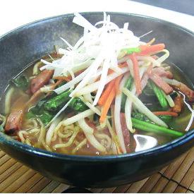 【ふるさと納税】CA0501 福岡県産ラー麦 担々麺(120g×8食入)