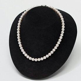 【ふるさと納税】Q−002.7.5〜8mmアコヤ真珠ネックレス