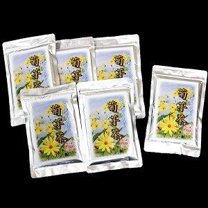 【ふるさと納税】E−121.菊芋茶100g×6袋