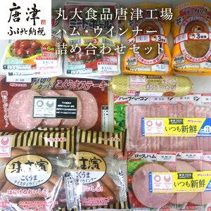 【ふるさと納税】 丸大食品唐津工場ハム・ウインナー詰め合わせセット
