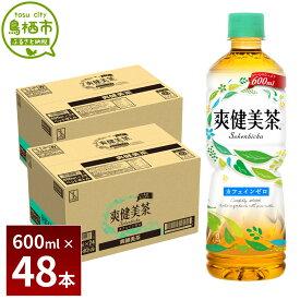 【ふるさと納税】13-09 爽健美茶 600mlPET 2ケース