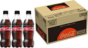 【ふるさと納税】コカ・コーラゼロシュガー 500mlPET 1ケース