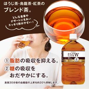 【ふるさと納税】21-02からだすこやか茶W1050mlPET2ケース