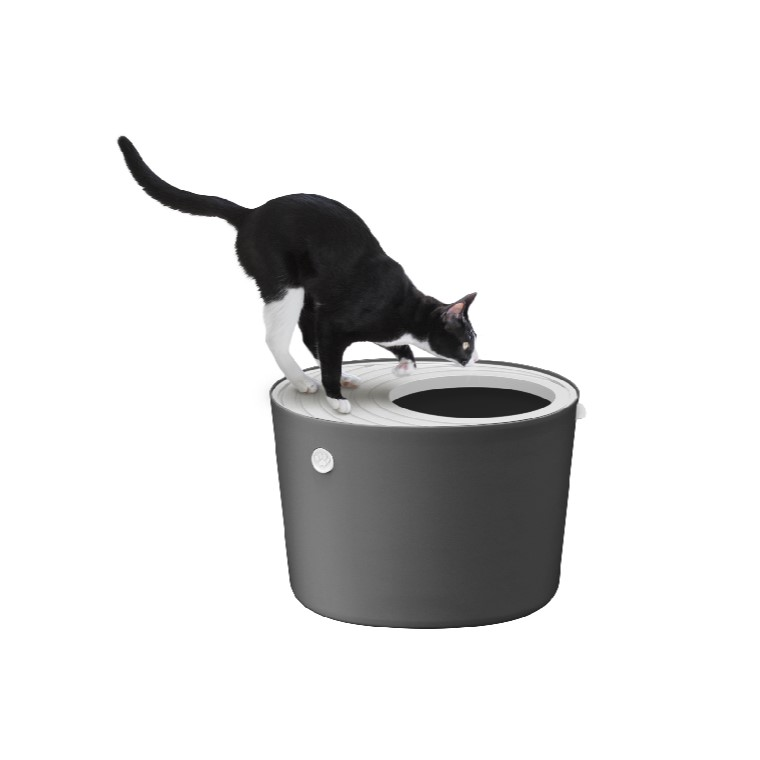 【ふるさと納税】上から猫トイレ PUNT-530 グレー