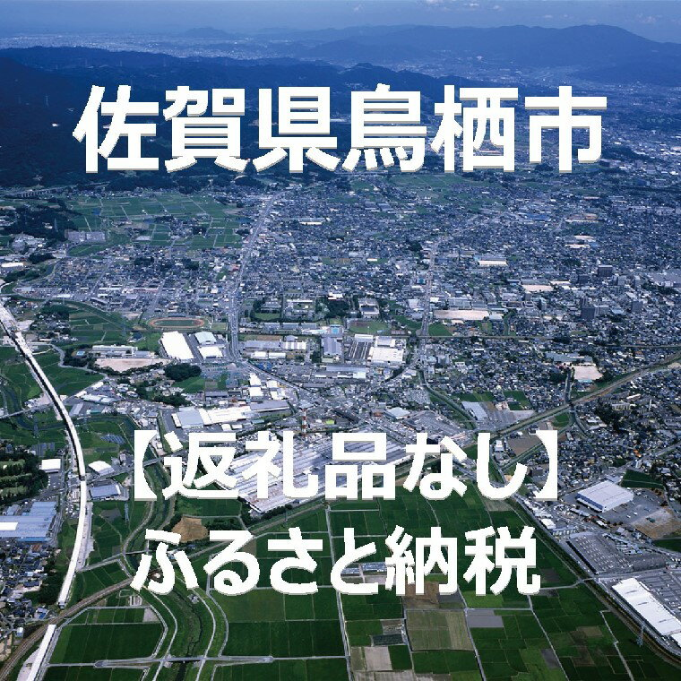 【ふるさと納税】佐賀県鳥栖市 返礼品なし(寄附のみの受付となります)