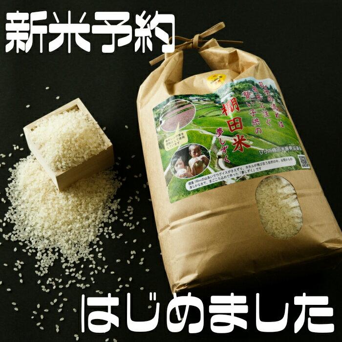【ふるさと納税】c-23 平野棚田米夢しずく(玄米)20kg【新米予約】