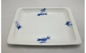 【ふるさと納税】H389ブルーレースパン皿