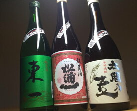 【ふるさと納税】D173「TheSAGA認定酒」東一純米酒・辛口純米・太閤乃麦3本セット