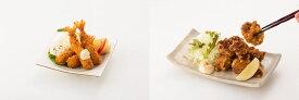 【ふるさと納税】G125お家で「ごちそうおかず」 はかせ謹製「海老フライ&若鶏唐揚げセット」