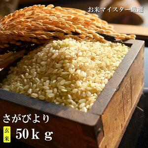 【ふるさと納税】H-4【特A・1等米】厳選!鹿島市産さがびより 玄米50kg