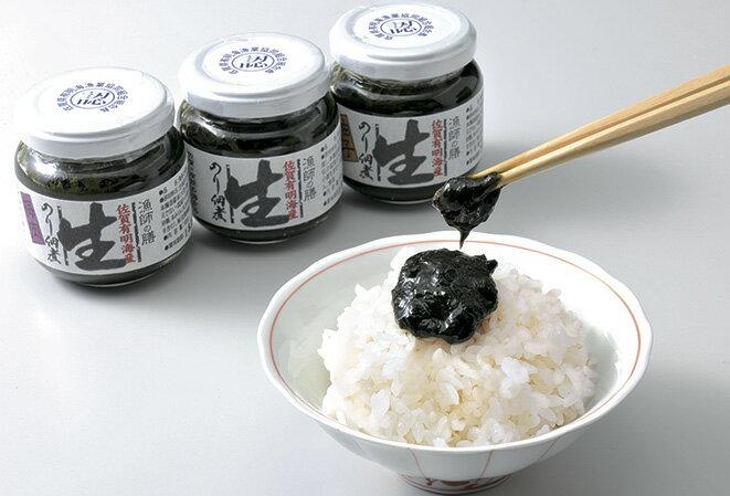 【ふるさと納税】A-2 日本一の佐賀海苔「生のり佃煮」3個セット