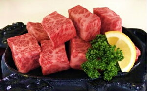 【ふるさと納税】佐賀牛 A5 霜降り サイコロステーキ 500g 和牛 肉 ステーキ 佐賀県 鹿島市 冷凍 送料無料 D-32