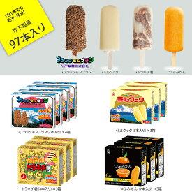 【ふるさと納税】竹下製菓アイスバラエティセット(97本入り)