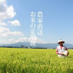 【定期便】(12ヶ月連続お届け)北川農産直送お米の定期便(5kg×12回)