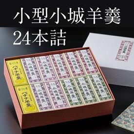 【ふるさと納税】小型小城羊羹24本詰 贈答用 ギフト 送料無料