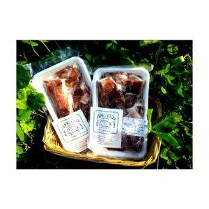 【ふるさと納税】脊振ジビエ 大容量 鍋物・カレー用イノシシ肉 約1kg (H044105)