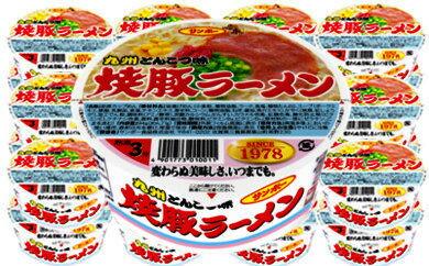【ふるさと納税】A-013 焼豚ラーメン 2ケース(24個)