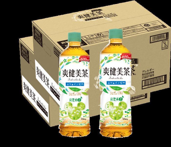 【ふるさと納税】A-096 爽健美茶 600mlPET【2ケース】