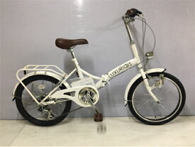 【ふるさと納税】J-045 ラグジュリアス206折りたたみ自転車(色 白)【数量限定20台】