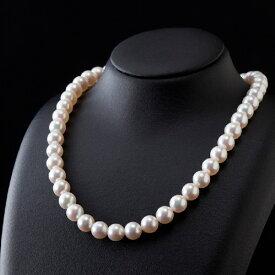 【ふるさと納税】五つ星級の真珠!オーロラ艶!ラウンド9.5-10mmアコヤ真珠ネックレス・ピアスorイヤリングセット