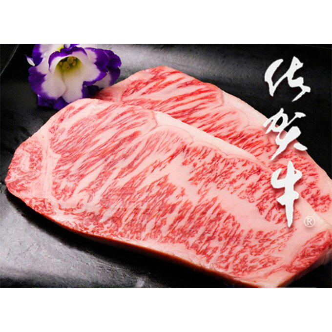 【ふるさと納税】佐賀牛サーロインステーキ(200g×2枚)(Z54-H)