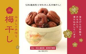 【ふるさと納税】みよしの手作り梅干し1kg(BO001)