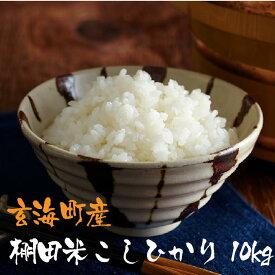 【ふるさと納税】佐賀玄海産棚田米こしひかり(10kg)