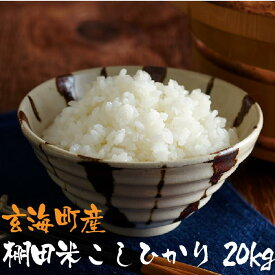 【ふるさと納税】佐賀玄海産棚田米こしひかり 20kg
