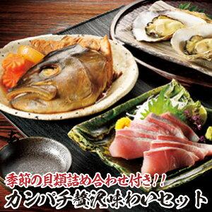 【ふるさと納税】渡邉水産のカンパチ贅沢味わいセット