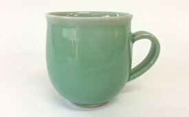 A20-6【ふるさと納税】茂正工房 翡翠丸マグカップ【陶磁器】