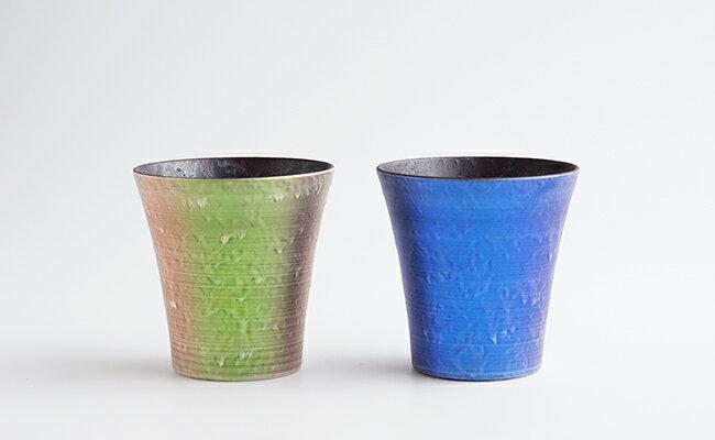 A20-18【ふるさと納税】麟 Lin ペアロックカップ【陶磁器】