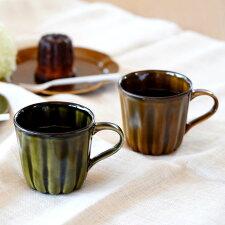 A15-114【ふるさと納税】皓洋窯お茶の時間を楽しむカヌレマグカップペアセット