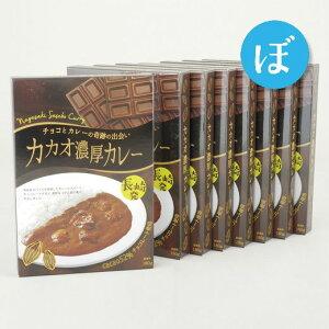 【ふるさと納税】薫り高いスパイス&チョコの融合「カカオ濃厚カレー」