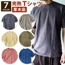 【ふるさと納税】草木の完熟 Tシャツ 1枚 選べるカラー オーガニックコットン S M L 2L 3L 4L 綿100% おしゃれ ファッション 長崎県 九州 送料無料