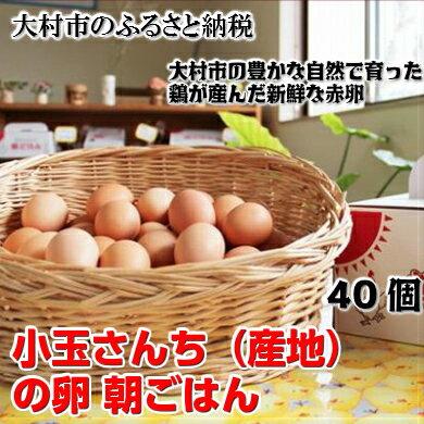 【ふるさと納税】0026.小玉さんち(産地)の卵 朝ごはん