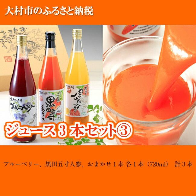 【ふるさと納税】0103.ジュース3本セット 3