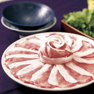 【ふるさと納税】平戸島豚のしゃぶしゃぶセット〜安心の地元野菜付〜