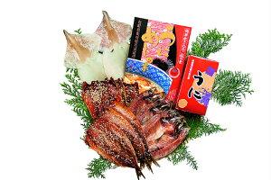 【ふるさと納税】絶品塩うにと旬の海産物セットD