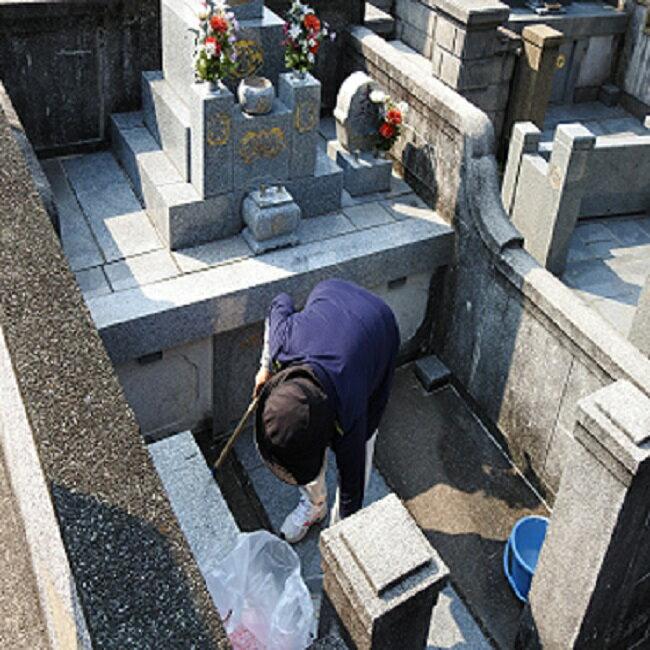 65【ふるさと納税】 シルバー墓守りさんサービス