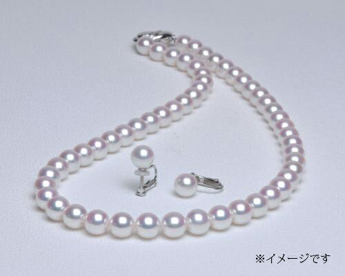 【ふるさと納税】No4 アコヤ本真珠ネックレスセット