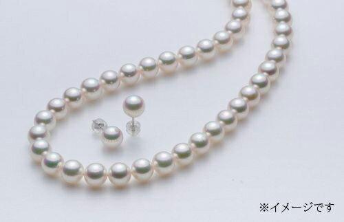 【ふるさと納税】No9 アコヤ真珠(花珠)パールネックレスセット
